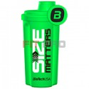 "Shaker BioTech USA Neon zelený ""Size Matters"" 700ml"