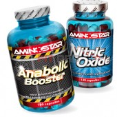 AMINOSTAR - Anabolic Booster 180kps + Nitric Oxide 120kps