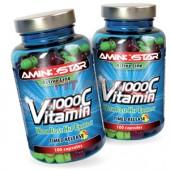 AMINOSTAR - Vitamín C 1000 s extraktom šípok AKCIA 100kps + 100kps