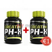 Akciový balíček BioTech USA - Creatine pH-X 2x 90kps