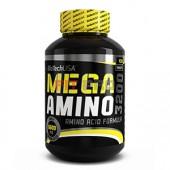 BioTech USA - Mega Amino 3200 100tbl - Aminokyselinová formula v tabletovej forme.