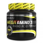 BioTech USA - Mega Amino 3200 300tbl - Aminokyselinová formula v tabletovej forme.