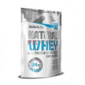 BioTech USA - Natural Whey 500g - 87% komplex srvátkovej bielkoviny vynikajúcej kvality bez pridaného cukru, sladidla, farbív a aróm.