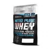 BioTech USA - Nitro Pure Whey 454g - Nitro pure whey je profesionálny proteínový prášok na udržanie a budovanie svalovej hmoty. Je vyrobený zo 100% srvátkového proteínu z najkvalitnejších zdrojov.