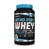 BioTech USA - Nitro Pure Whey 908g - Nitro pure whey je profesionálny proteínový prášok na udržanie a budovanie svalovej hmoty. Je vyrobený zo 100% srvátkového proteínu z najkvalitnejších zdrojov.