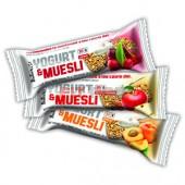 BioTech USA - Yogurt & Muesli tyčinky 32x30g