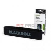 Slučka BLACKROLL Loop Band čierna - stupeň 6 - veľmi silná