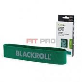 Slučka BLACKROLL Loop Band zelená - stupeň 4 - stredná