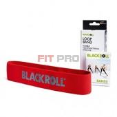 Slučka BLACKROLL Loop Band červená - stupeň 3 - mierna