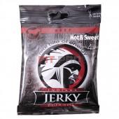 Indiana Jerky - sušené hovädzie mäso 25g Hot & Sweet