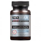 Max Muscle - Melatonin 3mg 90 tabliet - pre hlboký regeneračný spánok