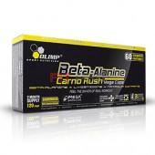 Olimp - Beta-Alanine Carno Rush 120 mega caps - sila a vytrvalosť - karnozínová stimulácia za super cenu