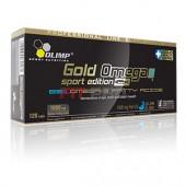 Olimp - Gold Omega 3 Sport Edition 120kps - veľké balenie mastných kyselín (zdravé tuky)