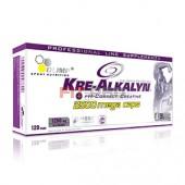 Olimp - Kre-Alkalyn 2500 Mega Caps 120kps pH korektný kreatín - najlepší patentovaný americký kreatín