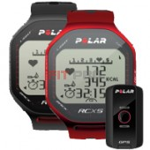 POLAR RCX5 + G5 + DataLink Black and Red