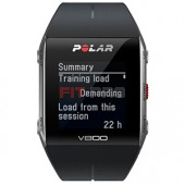 POLAR V800 HR - Športové hodinky s integrovaným GPS - čierne