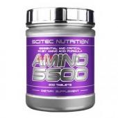 SCITEC NUTRITION - Amino 5600 200tbl