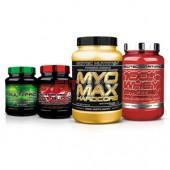 SCITEC NUTRITION - Balíček pre budovanie čistej svalovej hmoty - prémium
