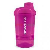 Shaker NANO BioTech USA cyklámenový 300 ml