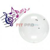 Ledraplastic - Jinglin' Ball 55 cm priehľadná