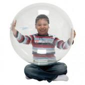 Ledraplastic - Opti Ball 55cm priehľadná