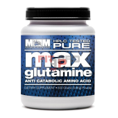 MAX MUSCLE - MAX GLUTAMINE, 600g