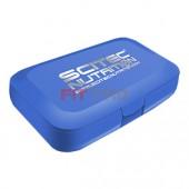 SCITEC NUTRITION - Pill Box Modrý - krabička na dávkovanie tabliet