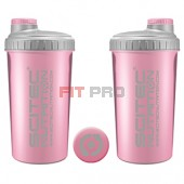 Shaker Scitec Nutrition ružový 700ml - profesionálny šejker 700ml na závit s kónickým sitkom vo vnútri, ktoré pomáha dokonale rozmiešať nápoje, najmä proteinové či sacharidové.
