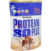 Weider Protein 80 Plus 500g - 4 zložkový proteín, najpredávanejší vo svojej kategórii! Vynikajúci multikomponentný 80%-ný proteín.