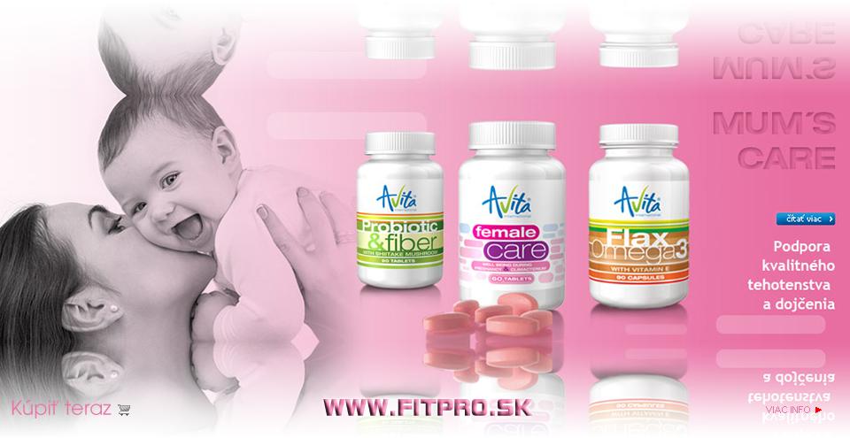 """Prírodné doplnky výživy najvyššej kvality """"Made in USA"""" pre tehotné ženy a dojčiace mamičky."""