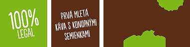 Konopná káva Cannabissimo Coffee™ je bezpečná na obsah THC a je v súlade s legislatívou v EÚ.