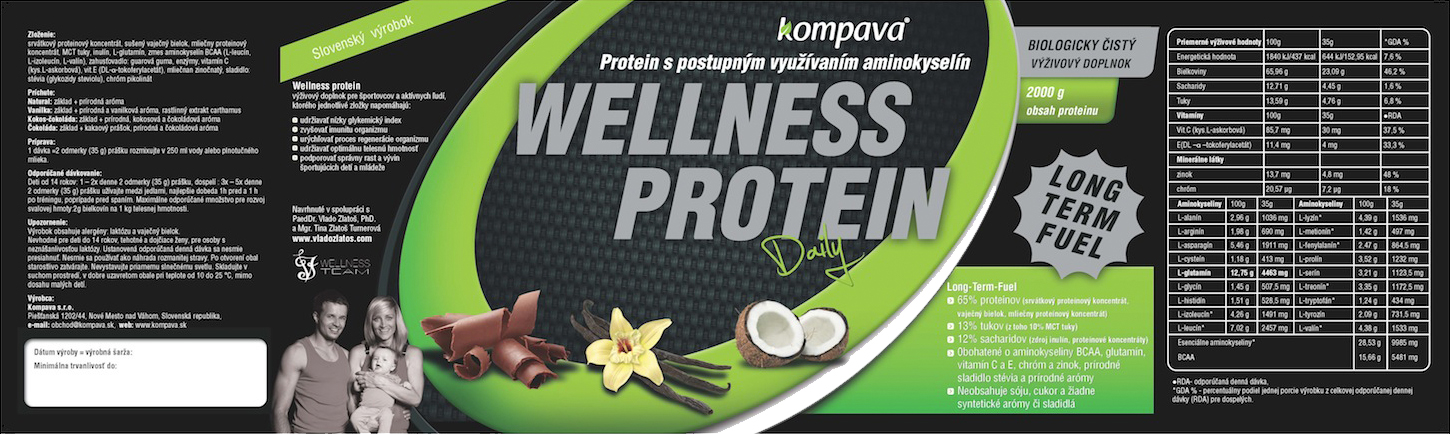 Kompava - Wellness Daily Protein