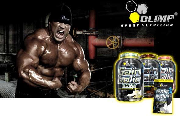 Olimp - Gain Bolic 6000 4000g - Gainer pre rýchly rast svalovej hmoty