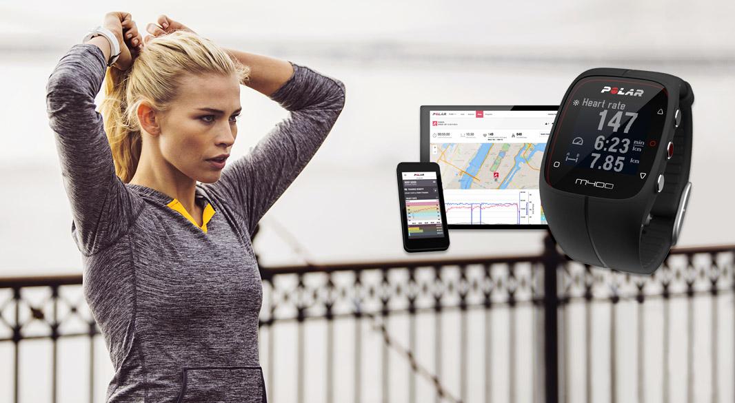 POLAR M400 - Športové hodinky s integrovaným GPS