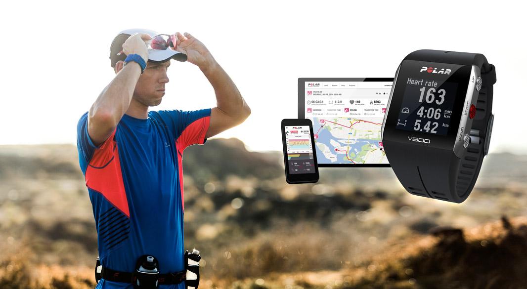 POLAR V800 - Športové hodinky s integrovaným GPS