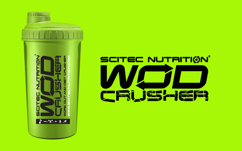 Shaker Scitec Nutrition WOD Crusher zelený 700ml