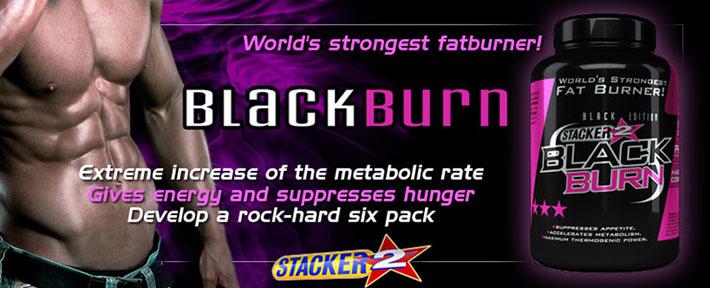 Stacker2 - Black Burn