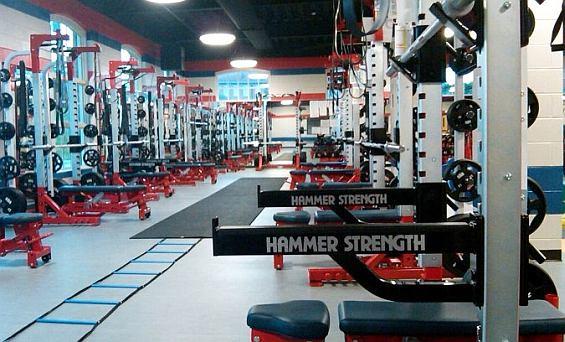 Posilňovacie stroje Hammer Strength