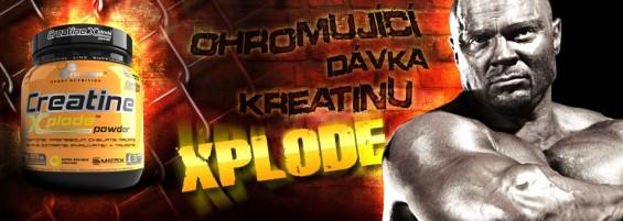 Olimp Creatine Xplode Powder 500g - najchutnejší práškový kreatín