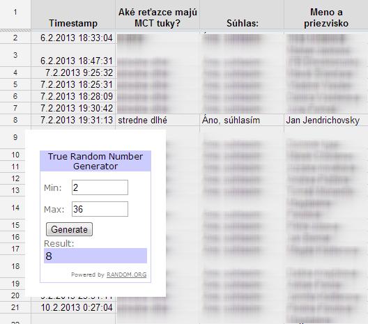 Súťaž s Kompavou (2013-02) - Vyhodnotenie