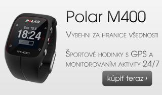 Polar M400. Vybehni za hranice všednosti